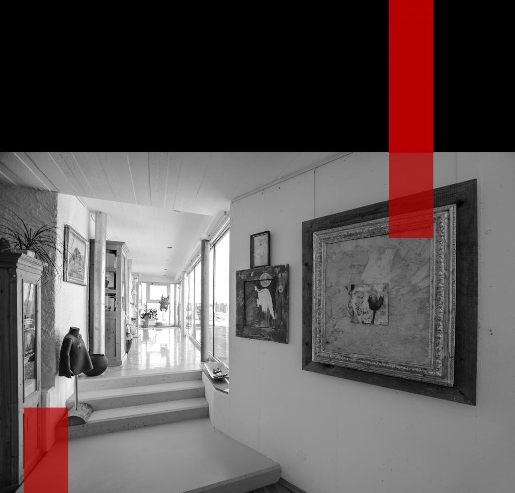 Innenansicht der Galerie Königsberg